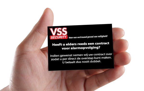 VSS Security zoekt collega's